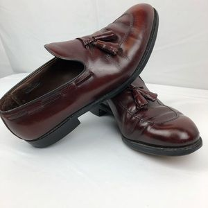 Allen Edmonds Saratoga Men's 10D Tassel Loafers